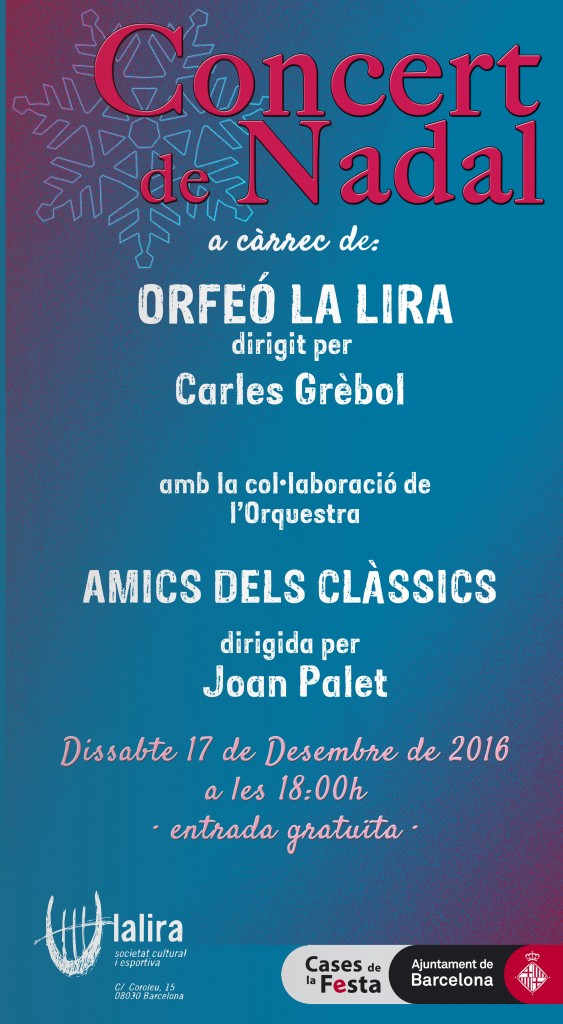 cartell concert nadal ORFEÓ
