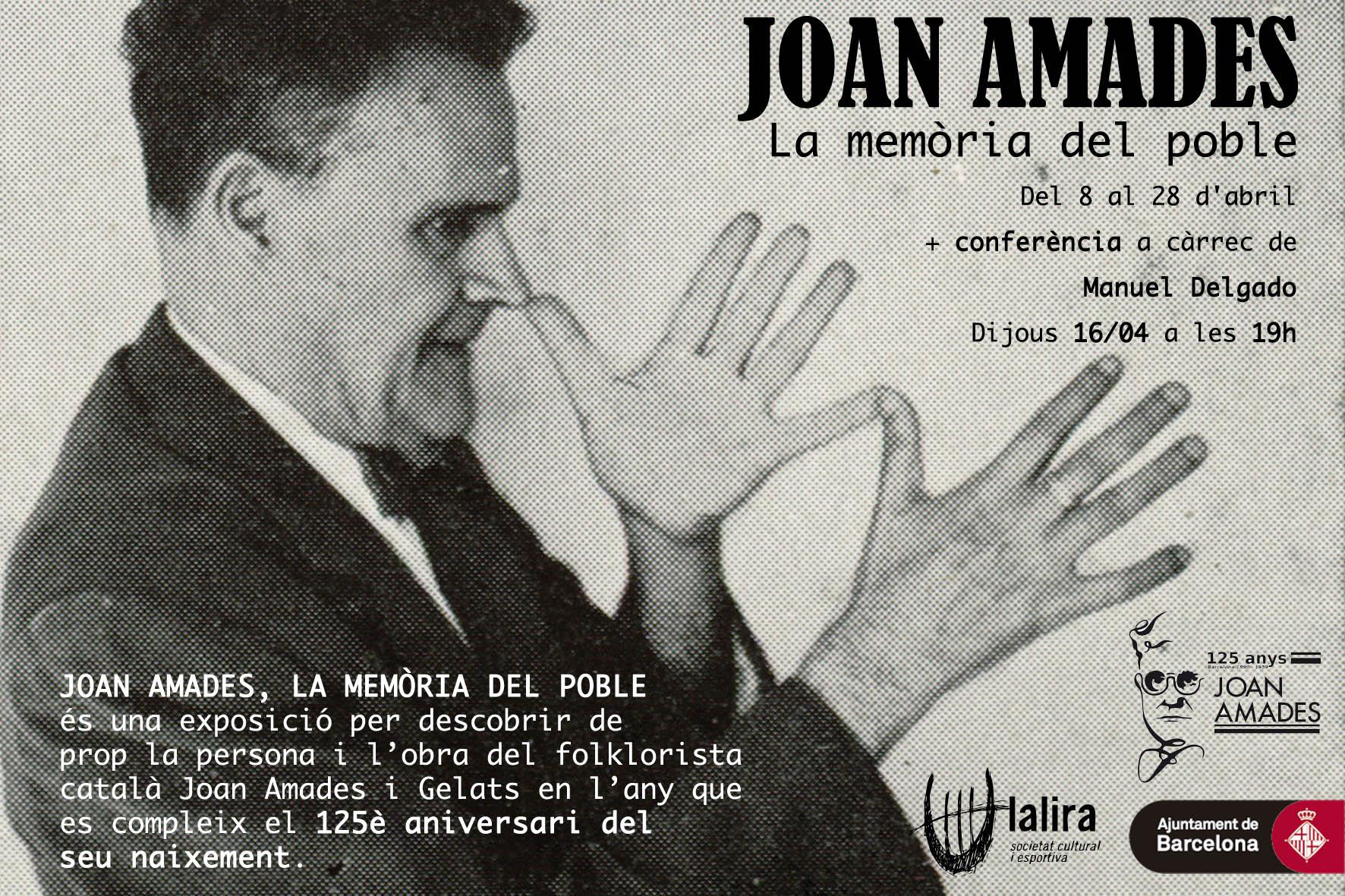 EXPOSICIÓ: Joan Amades. La memòria del poble
