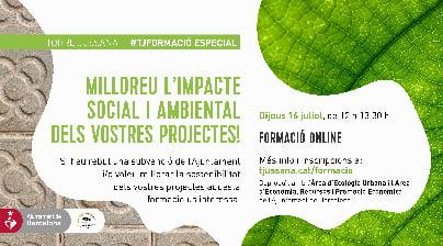 Millorar l'impacte social i ambiental dels nostres projectes