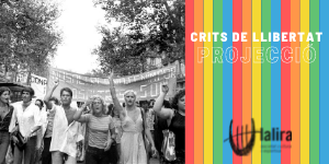 Projecció CRITS DE LLIBERTAT